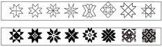 Kaheksakand- õnnetäht. Seda sümbolit on Eesti rahvariiete mustrites ja tarbeesemetel väga palju kasutatud. Igivanad kosmilised märgid, nagu kolmnurk, rist ja sõõr võttis ristiusk otseselt üle oma tehnoloogilisse süsteemi.