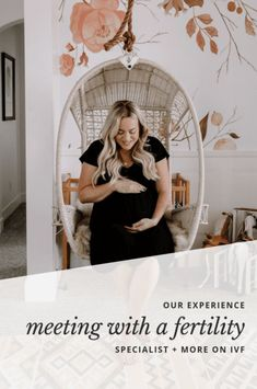 #ad The story behind infertility and why more people should be sharing theirs. Our IVF (in vitro fertilization) journey and why I feel it was so important we saw a fertility specialist.