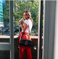 Ganni street style | Olivia Perez | Naoki Polo Pants