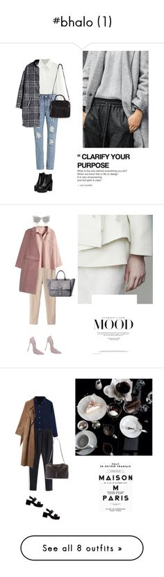 """""""#bhalo (1)"""" by yenybarriot ❤ liked on Polyvore featuring Alexander Wang, bhalo, Tila March, Le Specs, Casadei, Acne Studios, River Island, Yves Saint Laurent, Proenza Schouler and Rachel"""