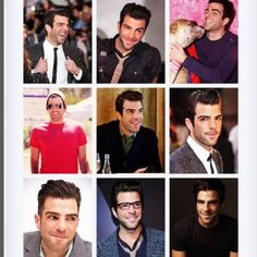 Zachary Quinto. Dat face :D
