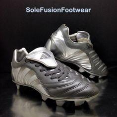 purchase cheap f13a6 2a391 adidas Predator Mens Football Boots SilverGrey size 6 Pulsado Cleats 6.5  39 13  eBay