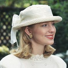 Classic Hat Crochet ePattern a quick to stitch crochet hat pattern for women (aff link)