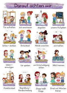 Kindergarten Portfolio, German Language Learning, Maila, Happy Mom, Classroom Management, Kids And Parenting, Diy For Kids, Baby Love, Baby Kids