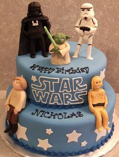 Star Wars Birthday Cake...if I could find someone who could make it, Jared would be in nerd heaven