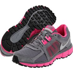 I typically buy one pair of running shoes a year when they're on sale in January. Here's this year's pick! Pretty bold for me but 2012 feels like a hot pink kind of year.