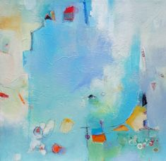"""Saatchi Art Artist Dorothy Gaziano; Painting, """"Blue with Exceptions"""" #art"""