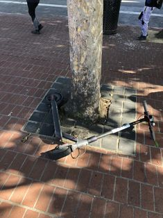 Scooters behaving badly: Photos show the worst-parked scooters in San Francisco - SFGate