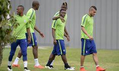 La squadra di Allegri si allena a Vinovo alla vigilia della sfida con il Real Madrid
