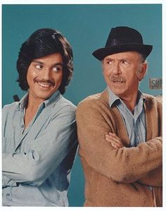 Chico and the Man (1974-1978) tv series, Stars: Freddie Prinze, Jack Albertson & Scatman Crothers