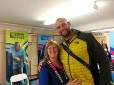 RWC Volunteering @ Millennium Stadium. Quarter Finals day. Hanging with Dan Tuohy