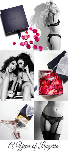 26a7bc1a86 lingerie subscription club delivered in real rose petals. why not treat  yourself or your bestie