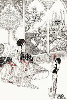 Ronald Balfour   Illustration for The Rubaiyat of Omar Khayyam