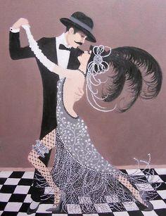 Dian Bernardo - Art Deco Tango Dancers: