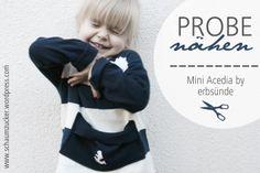 "Kinderpullover ""Mini Acedia"" von erbsünde."