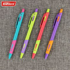 1pcs Creative Candy Color  TENFON Ballpoint Pen Colorful Exclamation Mark Plastic Ball Pens Office School Gifts #shoes, #jewelry, #women, #men, #hats, #watches, #belts