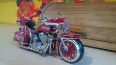 Harley davidson flh classic. . soft drink coca cola tincan ( by faisal rizal ) handmade