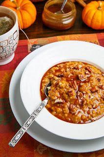 be healthy-page: Slow Cooker Pumpkin Pie Steel Cut Oatmeal