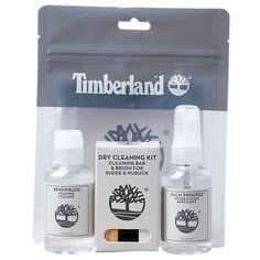 Our powerhouse Travel Kit extends the life and good looks of your Timberland® leather footwear. Remove dirt with the Dry Cleaning Kit and Renewbuck™ cleaner, and protect with the Balm Proofer™ spray. Timberland Store, Timberland Mens, Water Stains, Timberlands Women, Travel Kits, Cleaning Kit, Leather Accessories, Spray Bottle, Vodka Bottle