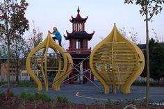 Дизайн детских площа