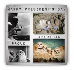 """""""Happy President's Day (Happy & Blessed to live here)"""" by maison-de-forgeron ❤ liked on Polyvore featuring art"""