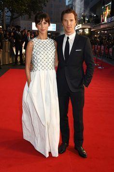 Sophie Hunter and Benedict Cumberbatch, 'Black Mass' premiere, October 11, 2015, London.