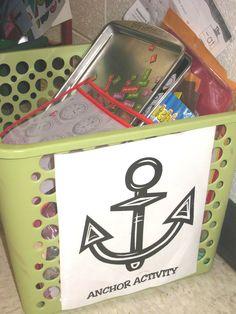 Basket of Anchor Activities