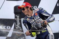 3rd Place Rossi  VR46 Aragon GP 2013 MotoGP @ValeYellow46