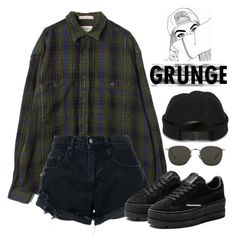 """""""Untitled #650"""" by jenxorose ❤ liked on Polyvore featuring Nobody Denim, Linda Farrow and AMI"""