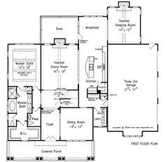 Lillian Ridge - Home Plans and House Plans by Frank Betz Associates