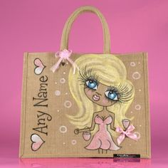 ClaireaBella Large Jute Bag