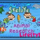 """""""Seafari"""" Ocean Animal Research Unit for Kindergarten  Please view the preview for a few more pictures. TpT was finicky about which pics it let me ..."""
