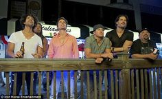 Matt and the #MMXXL boys on the town :)