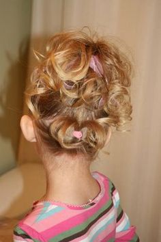 Cute blog with lots of hairstyle ideas for little girls (and some other tutorials as well).