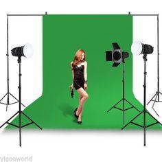Studio Green Screen Chromakey Backdrop 1.6 x 3 m Muslin Video Photo Background in Cameras & Photography,Lighting & Studio,Backdrops | eBay