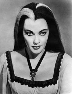 """Vintage queen of Halloween, Yvonne De Carlo."""