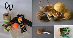 Miniatúrne košíky - Dobré rady a nápady