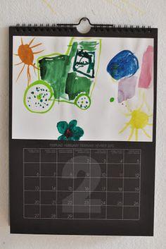 Drawings calendar