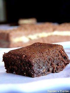 Brownie au chocolat et aux noix tout moelleux