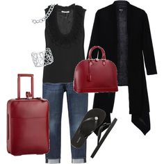 pretty sure id be the best looking person on the airplane if this was my travel outfit!