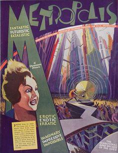 Metropolis Poster, Metropolis 1927, Movie Poster Art, Film Posters, Vintage Movies, Vintage Posters, Alex Pardee, Fritz Lang, Pop Culture Art