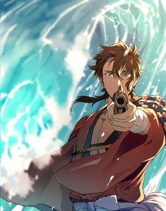 1801-014 Touken Ranbu, Anime Love, Anime Guys, Mutsunokami Yoshiyuki, Kawaii Anime, Sword, Fan Art, Illustration, Fictional Characters