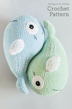 Crochet Pattern Plush Whale Crochet Whale Pattern Crochet Seal Pattern Softie To… – Best Amigurumi Crochet Whale, Crochet Sloth, Cute Crochet, Crochet Baby, Crochet Bird Patterns, Crochet Patterns For Beginners, Crochet Patterns Amigurumi, Crochet Dolls, Knitting Patterns