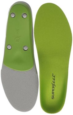 Superfeet Insoles Size:C-D Superfeet Blue All Purpose Performance E-F