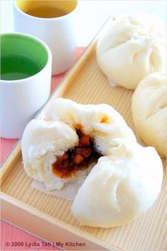 Char Siew Bao (Chinese Roast Pork Bun/叉烧包) - you can make these from scratch! | rasamalaysia.com