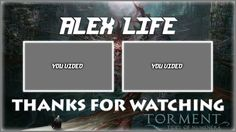 Torment: Tides of Numenera Outro Template FREE SONY VEGAS PRO 11, 12, 13