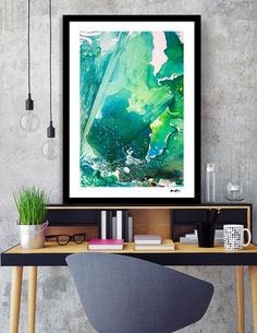 Discover «Environmental Consideration, Deep Sea Water Bubbles», Numbered Edition Fine Art Print by Alicia Jones - From $20 - Curioos