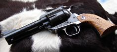 Just a nice shot of an old model Ruger.