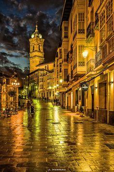 In the City Blinding Lights by Joseba Herrero on 500px
