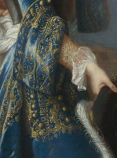 "sollertias: "" Portrait de Louis Alexandre de Bourbon, légitimé de France, comte de Toulouse by François de Troy, date unknown (detail) """
